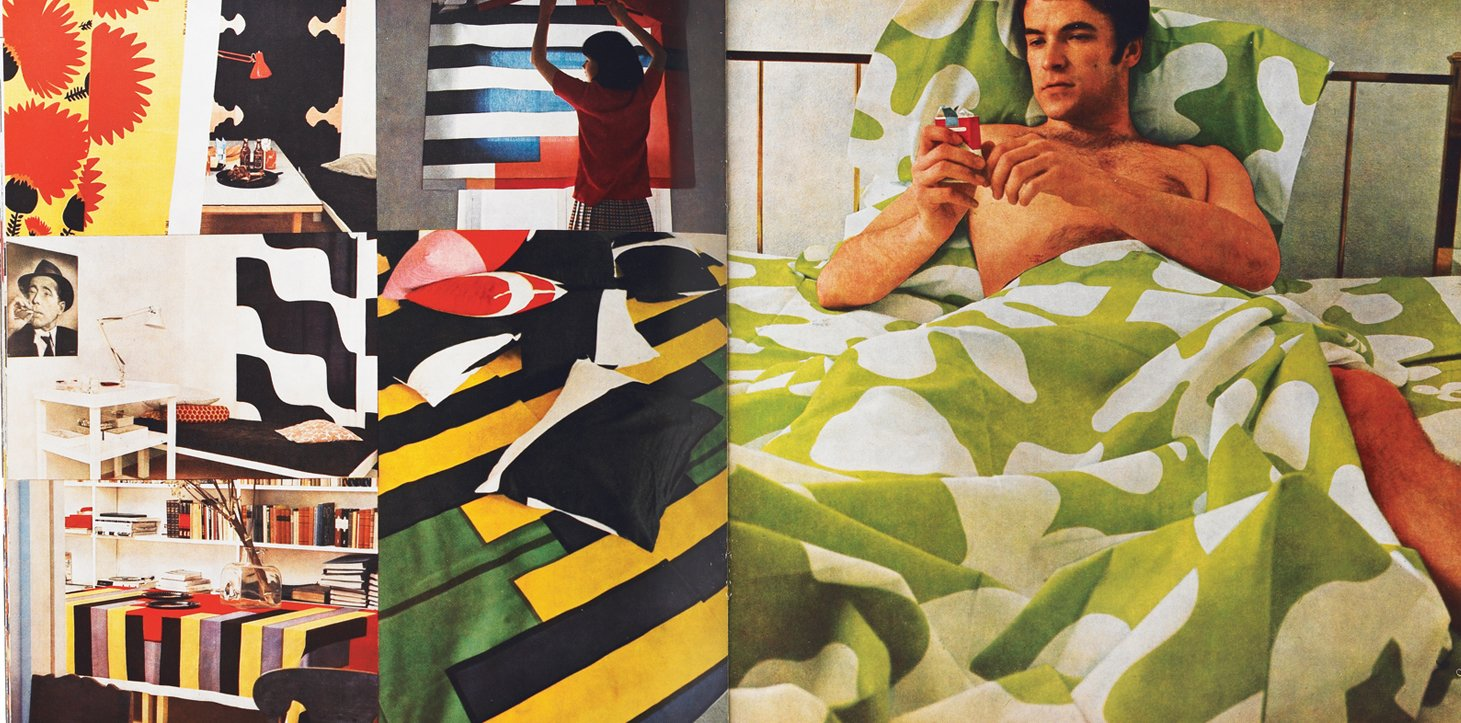 A Marimekko catalog from the late 1960s.  Photo 2 of 10 in Partners in Design