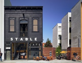 Architecture + Food = Stable Cafe
