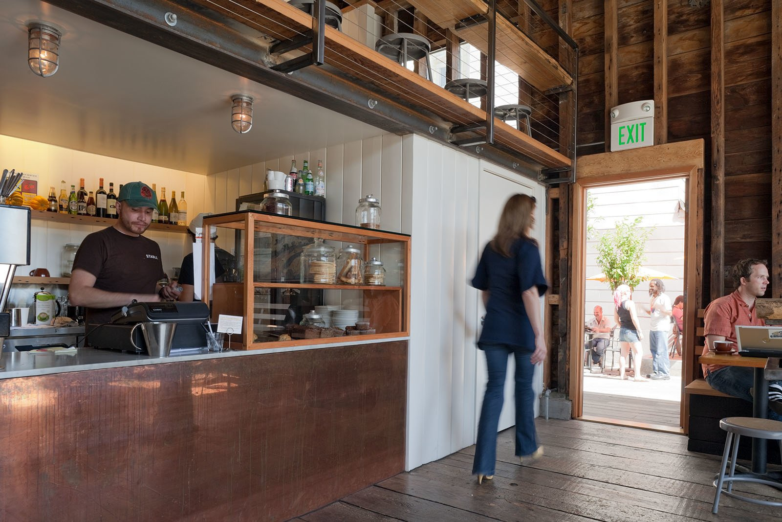 Stable Cafe  Architect: Malcolm Davis Architecture  Location: San Francisco, California  Photo 5 of 5 in Architecture + Food = Stable Cafe