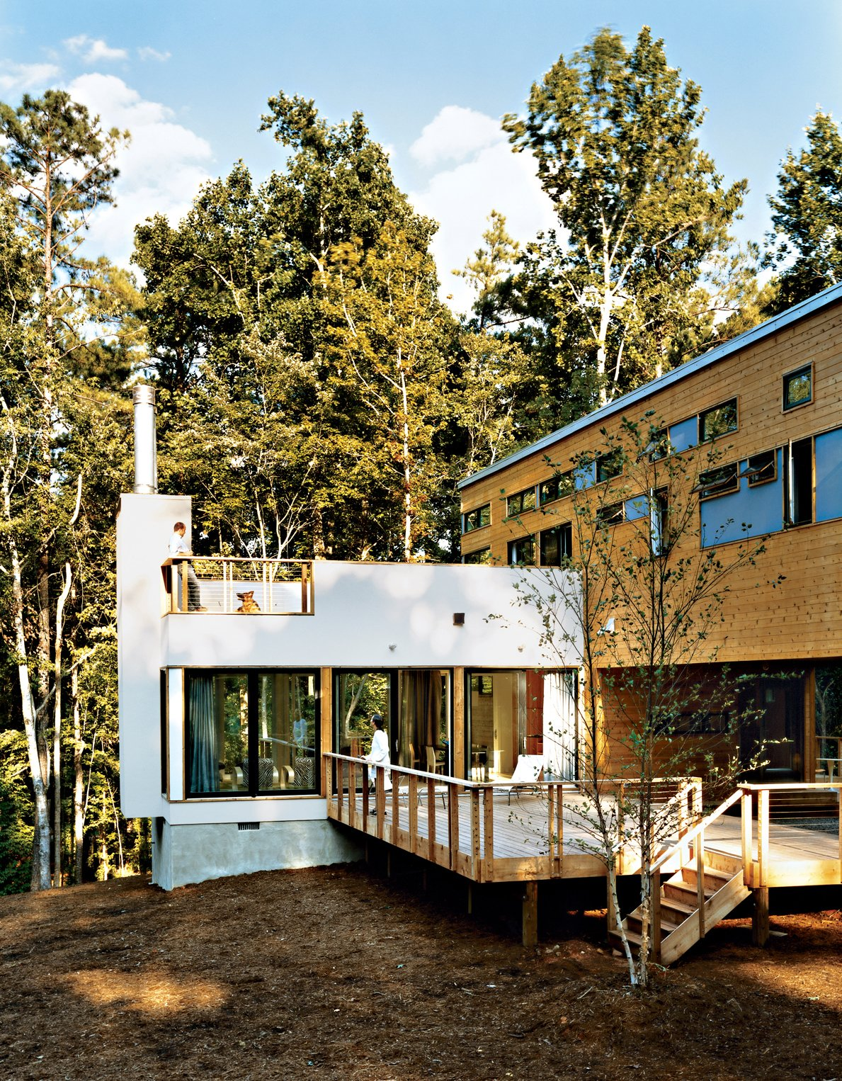 In 2003, Resolution: 4 Architecture was one of 16 firms who participated in the Dwell Home Design Invitational, a competition to design a modern prefab home for $200,000.  Best Photos from Prefab, Proven