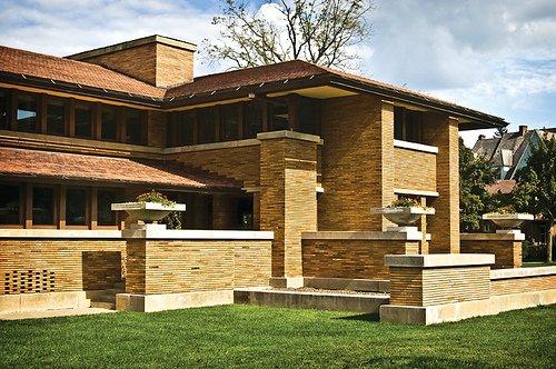 The Darwin Martin House. Image courtesy Flickr user Gmeadows1.  Photo 1 of 4 in Buffalo, New York