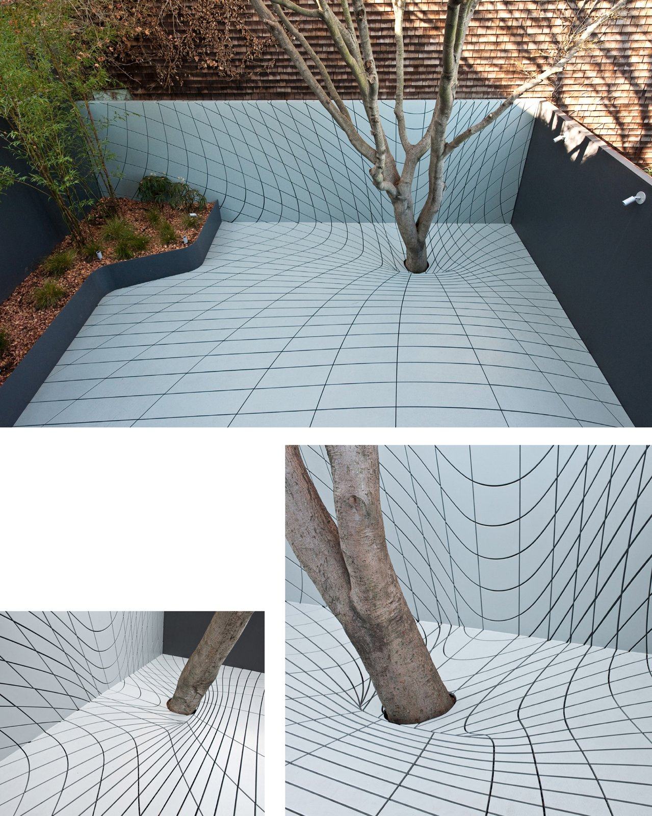 The Deformscape backyard in San Francsico, California, designed by Faulders Studio, winner of the New Practices San Francisco 2009 competition.  Photo 11 of 22 in Young Guns: Best New Practices 2009