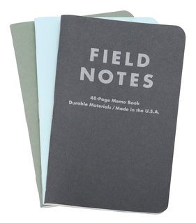 Field Notes Winter Colors Series