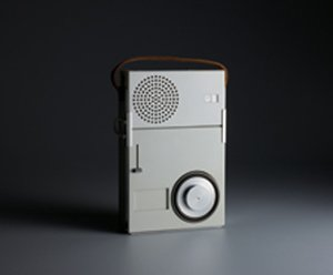 TP1 portable radio-phono combination by Dieter Rams, 1959.  Photo 1 of 4 in This Weekend: 11.19-11.22