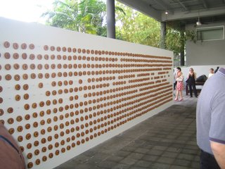 Rubell Collection: Donut Wall