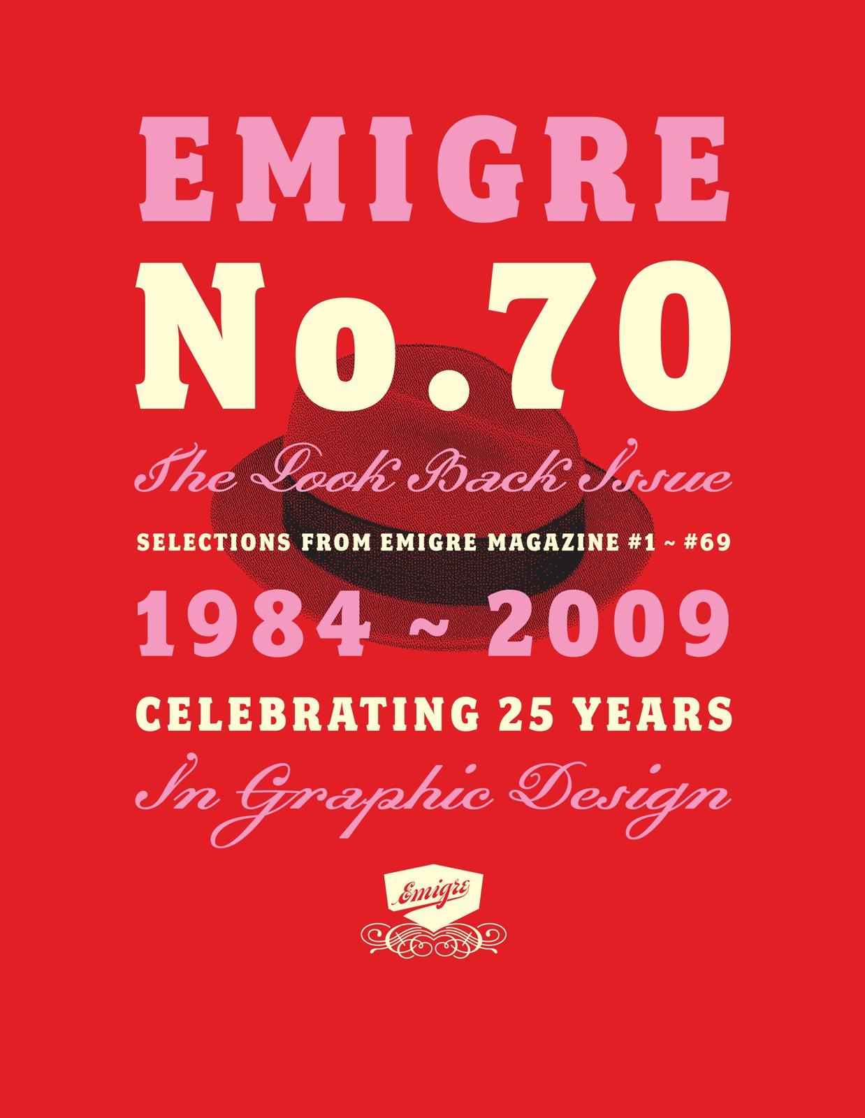 Emigre No. 70, cover  Photo 1 of 9 in Emigre No. 70