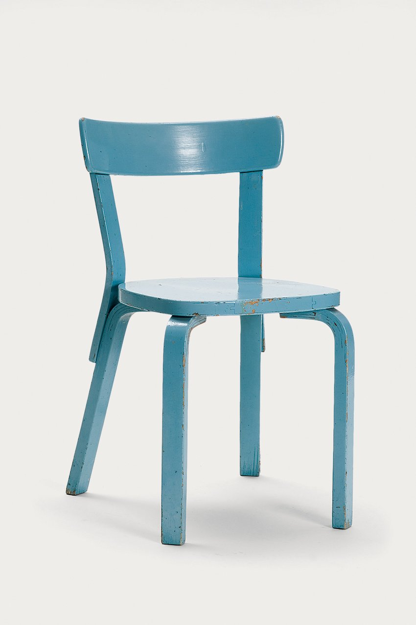 A Children's chair N65, also from Artek's 2nd Cycle series and also embedded with coded RFID tags.  Photo 2 of 8 in Tom Dixon