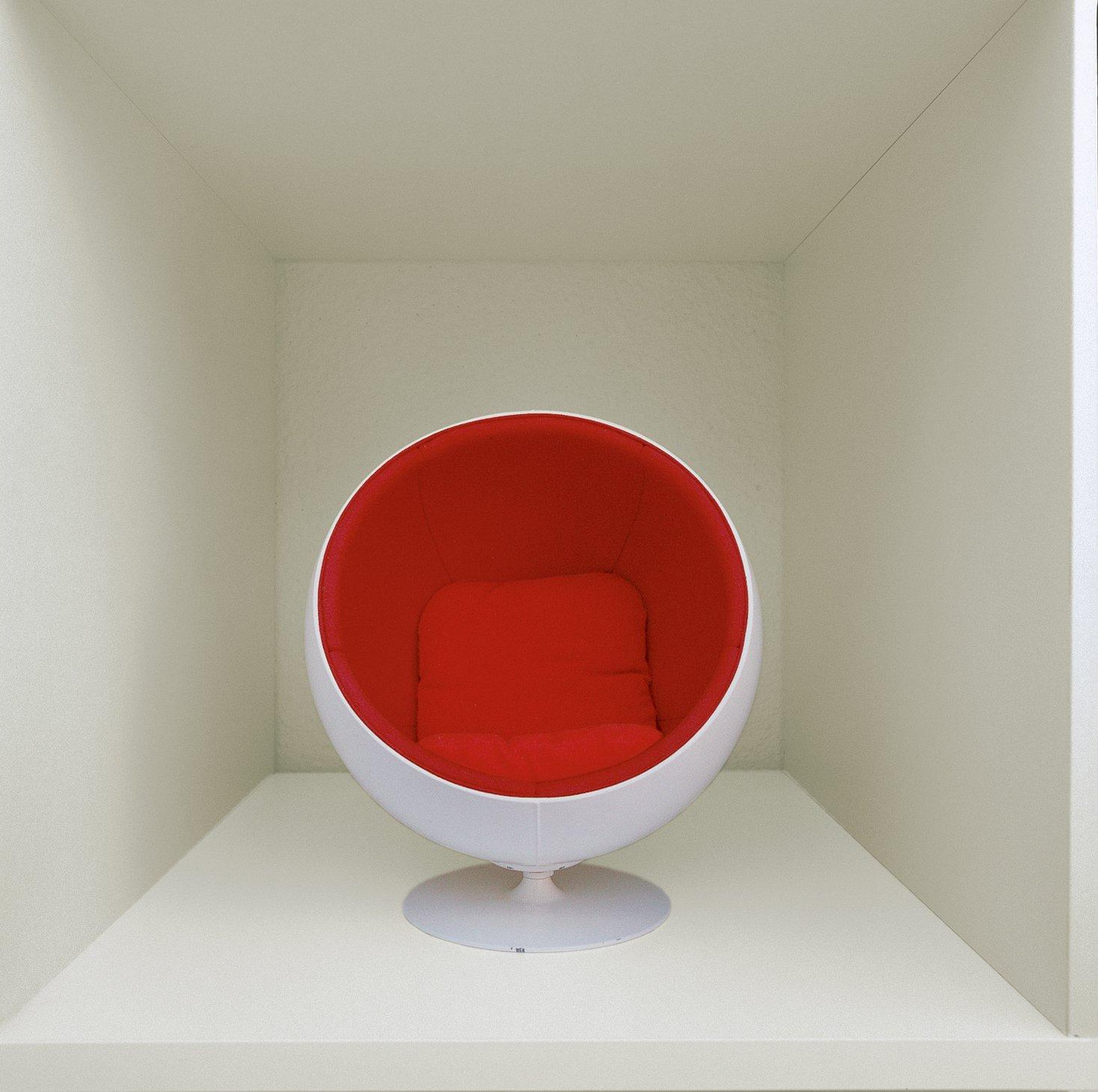 A miniature Ball Chair.  Photo 6 of 13 in Furniture Designer Focus: Eero Aarnio