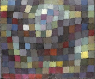 <i>Maibild,</i>&nbsp;Paul Klee, 1925, oil on cardboard, 16 5/8 x 19 1/2 inches, 42.2 x 49.5 centimeters.