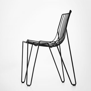 The Tio Chair in black.