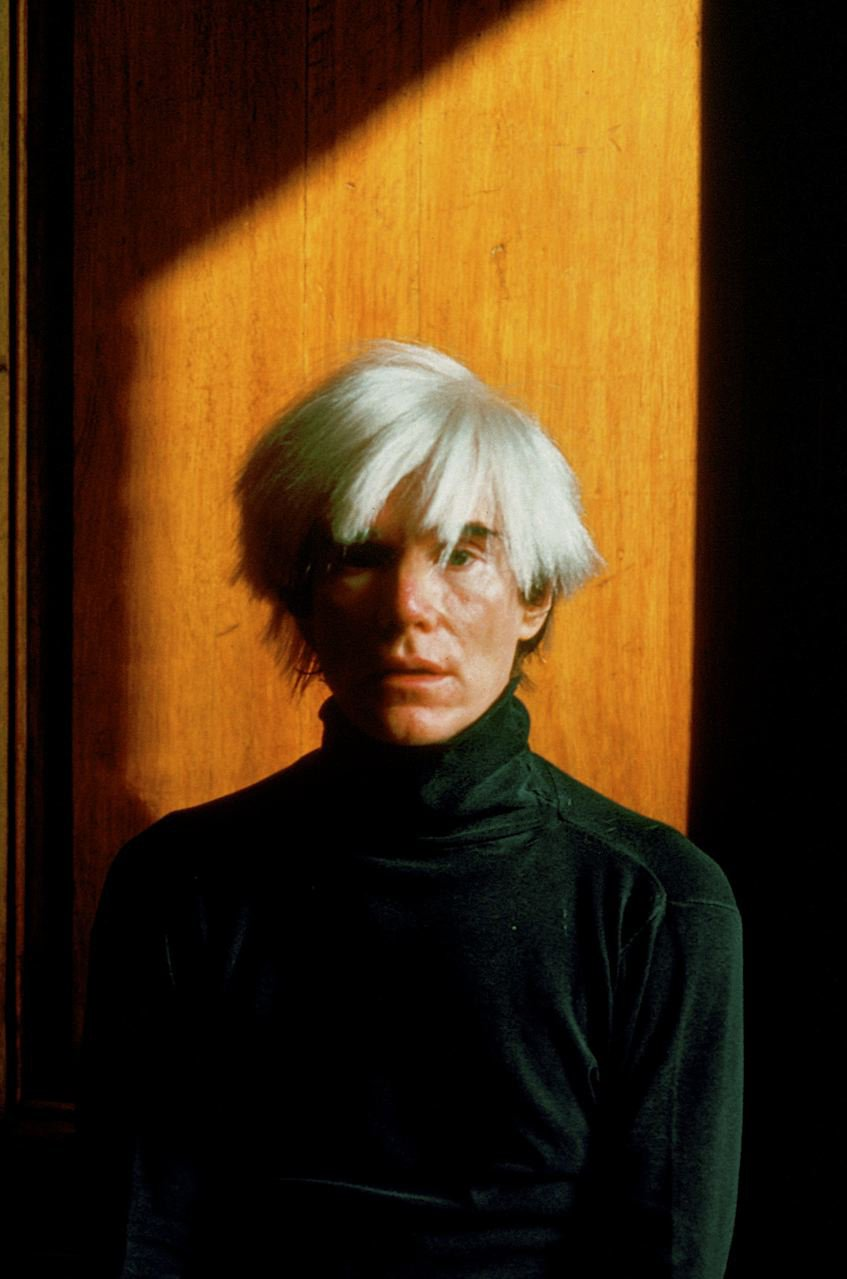 Warhol. This was my original assignment. Then I shot Basquiat. Basquiat and Warhol together was the icing on the cake. Andy shared one of the great business lessons with me and I have never forgotten the symbolism in his words.  Richard Schulman's Photographs by Bradford Shellhammer from Richard Schulman