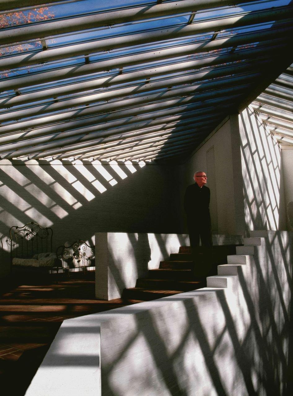 Philip Johnson.  Richard Schulman's Photographs by Bradford Shellhammer from Richard Schulman