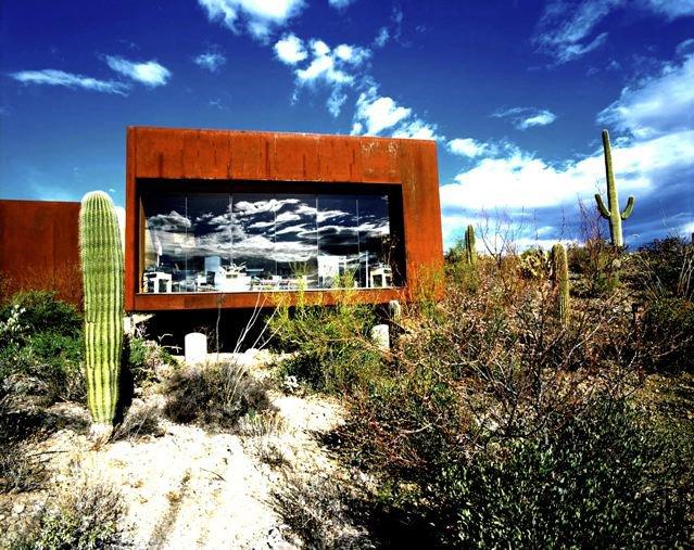 A Rick Joy-designed home in the desert of Arizona.  Richard Schulman's Photographs by Bradford Shellhammer from Richard Schulman