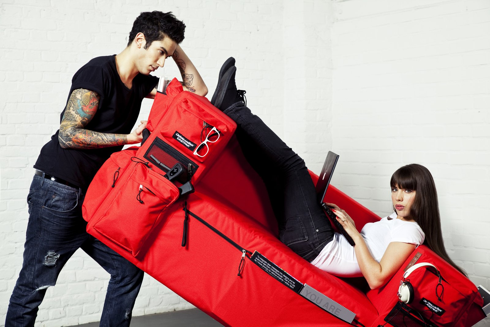 """Search """"milan 2010 in color"""" from Backpack Sofa by Quinze&Milan"""