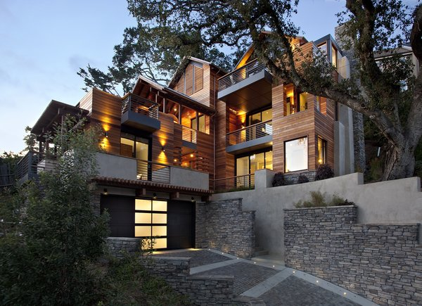 Photo 7 of 10 in 11 Hillside Homes That Feature a Balancing Act With
