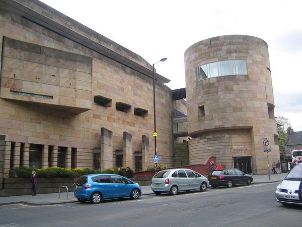 Here's the modern extension of the Royal Scottish Museum by architect .