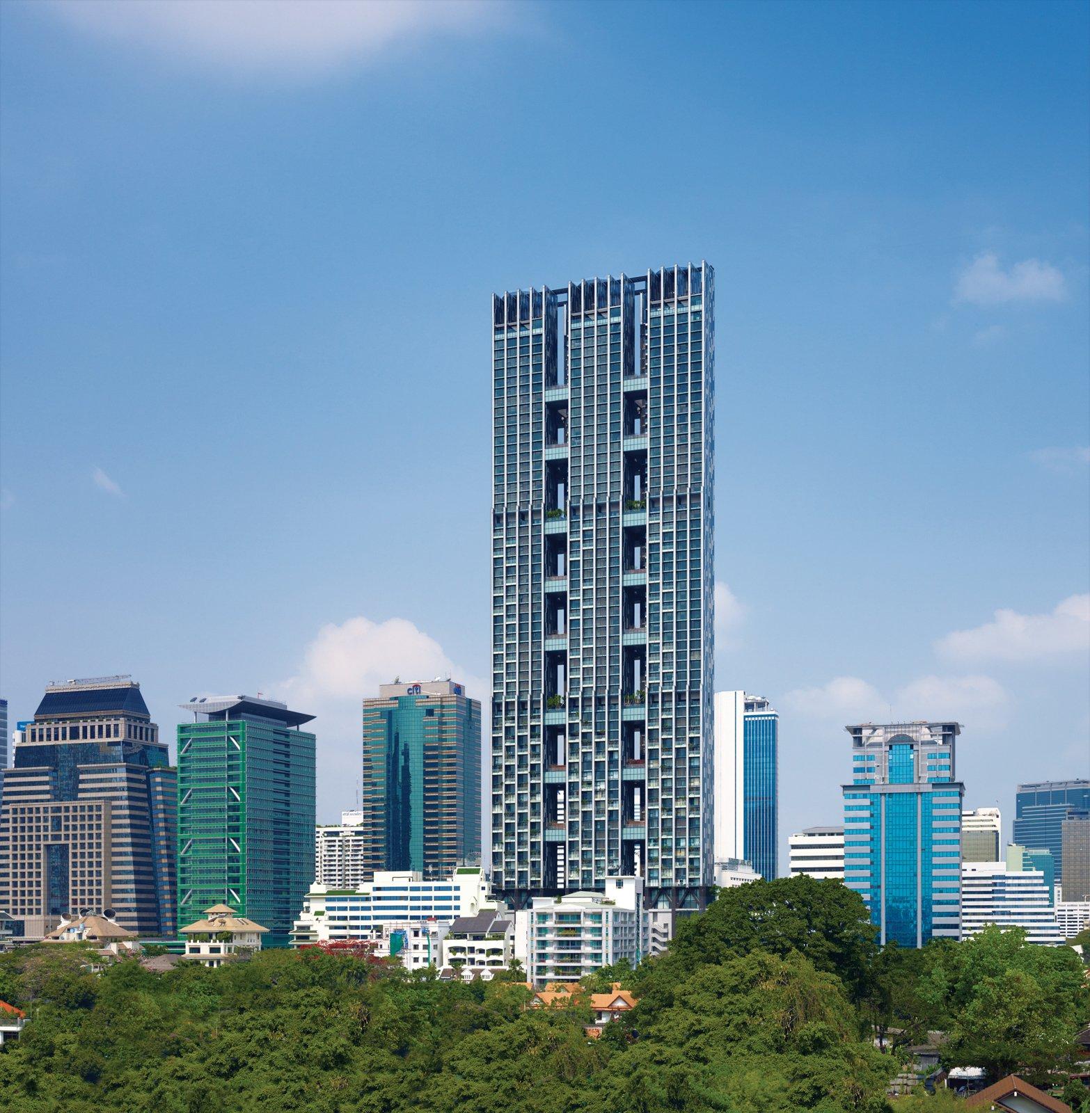 The Met, Bangkok  Architects - WOHA Designs  Photo 1 of 1 in Met Life