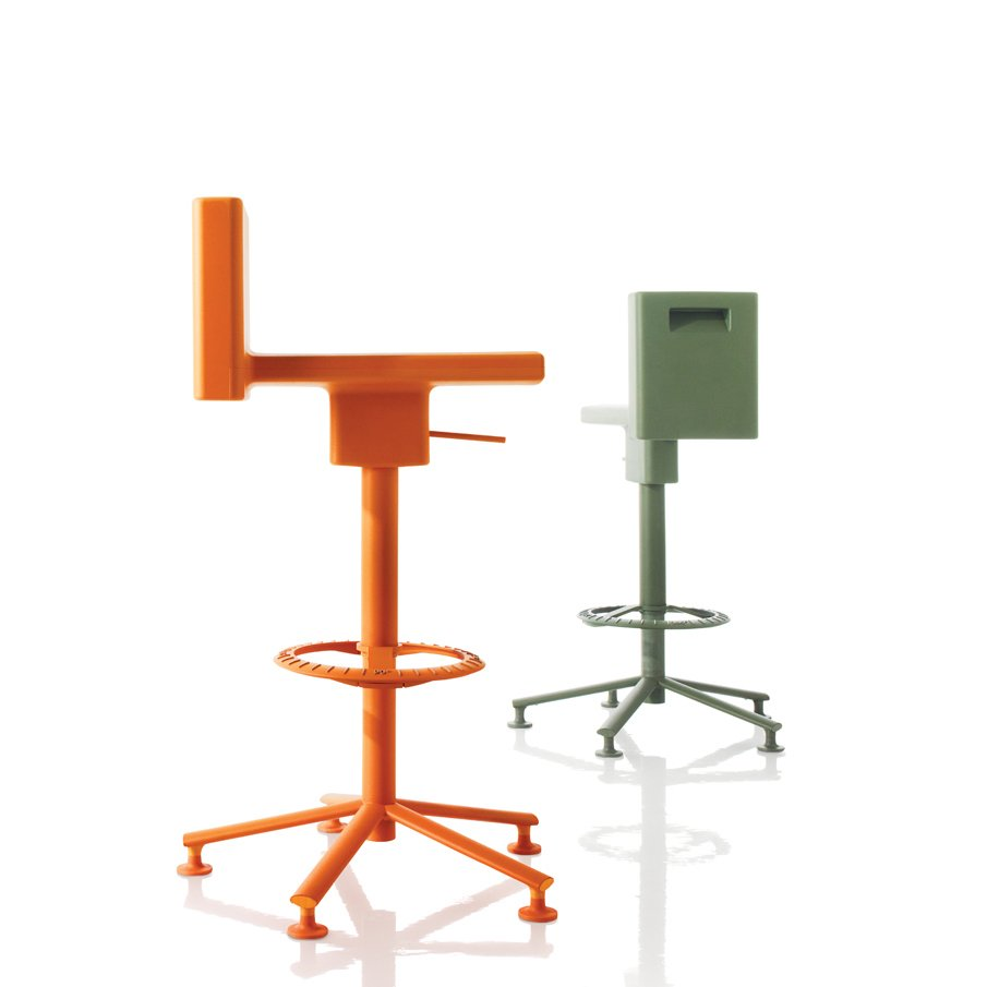 The 360 degree Chair and Stool for Magis, 2009.  Photo 21 of 26 in Industrial Designer Focus: Konstantin Grcic