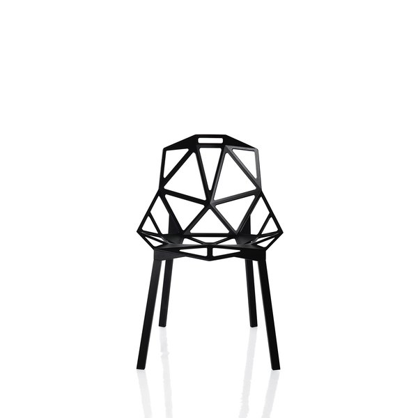 Another of Grcic's signature designs is the Chair One he did for Magis.