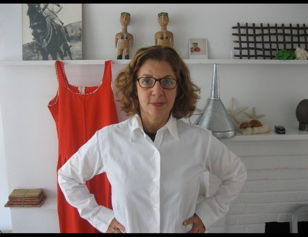 The other finalist for the Communication Design Award was Maira Kalman, a designer, author, and artist best known for her illustrations for the cover of the New Yorker. Photo by Rick Meyerowitz.