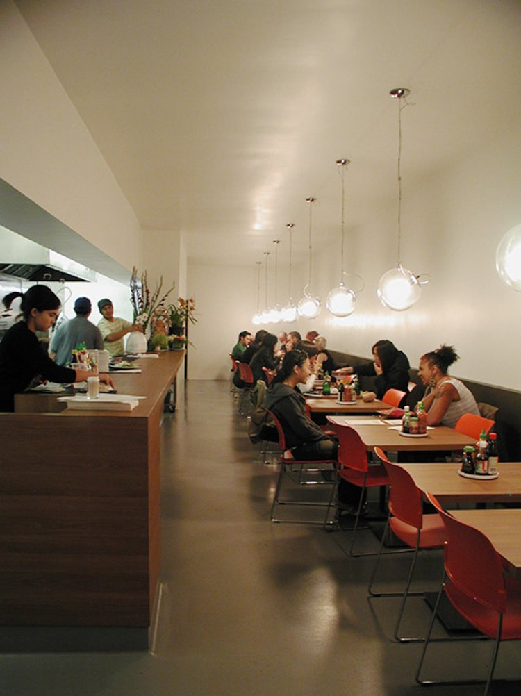The Pho Cafe in Silverlake, designed by EscherGunewardena, made it onto our map of not-to-be-missed modern restaurants in Los Angeles, curated by Los Angeles Magazine editor Chris Nichols.  Photo 2 of 3 in Preview: Good Food Sunday