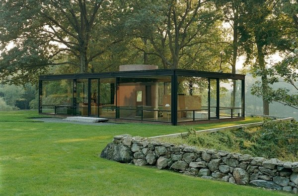 The house that started it all: Philip Johnson's Glass House in New Canaan. He and David Whitney used to invite great minds from the architecture, design, and art worlds to the house for evenings of discussion and debate. When the Glass House opened to the public in 2007, its programmers continued the invitation-only tradition.