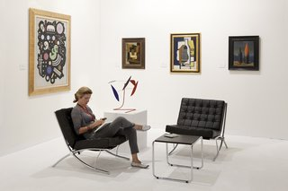 "Helly Nahmad, Art Basel 2010. From the Series ""Art Fares"""