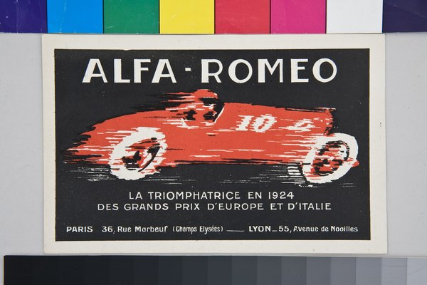 This postcard by French artist Francis Vareddes tells you all you need to know about the thrilling promise of the automobile.