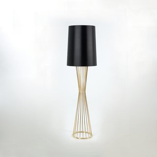 The Tulip Lamp, with a base of metal rods, was designed in 2007.
