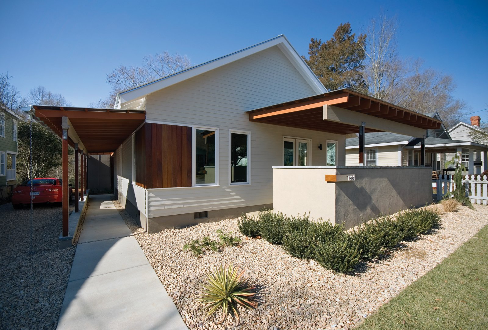 The barker residence in raleigh north carolina is designed by vernacular studio located in