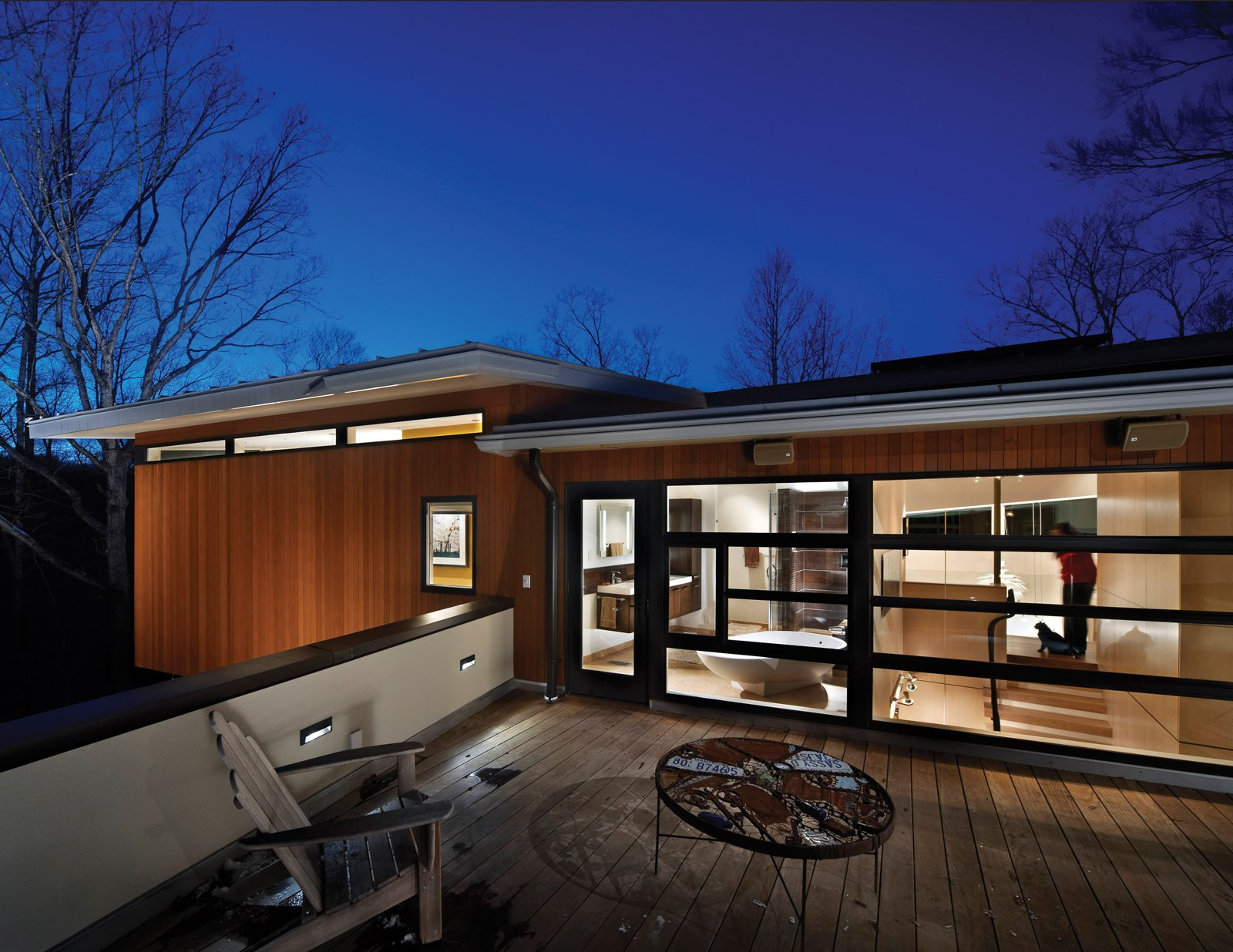 Designed by Ellen Casilly , Frank Konhaus and Anna Wirththis, the Cassilhaus is a multilevel residence, art gallery, and site for artists-in-residence.  Photo 4 of 30 in Triangle House Tours
