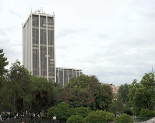 The Athens Tower by Ioannis Vikelas is one of the city's modernist icons.