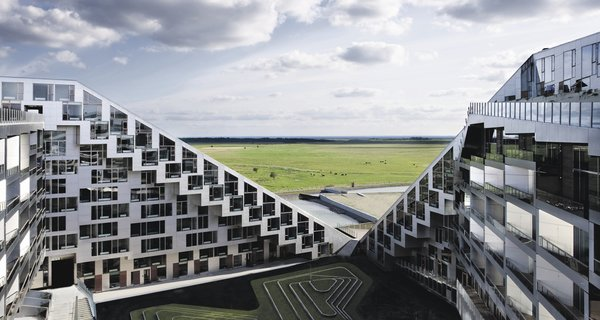 8 House, Apartment Building, Copenhagen, 2009, designed by Bjarke Ingels Group of Denmark. Photo by Ty Stange.