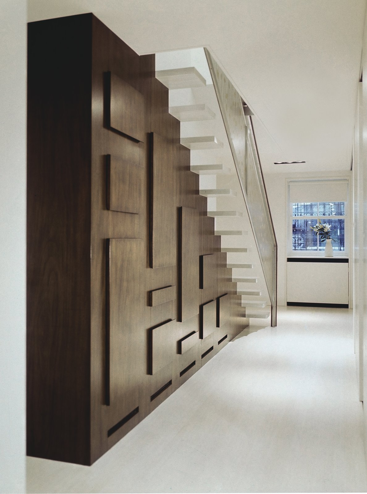 STAIR HALL  190+ Best Modern Staircase Ideas from Soho Row House Renovation
