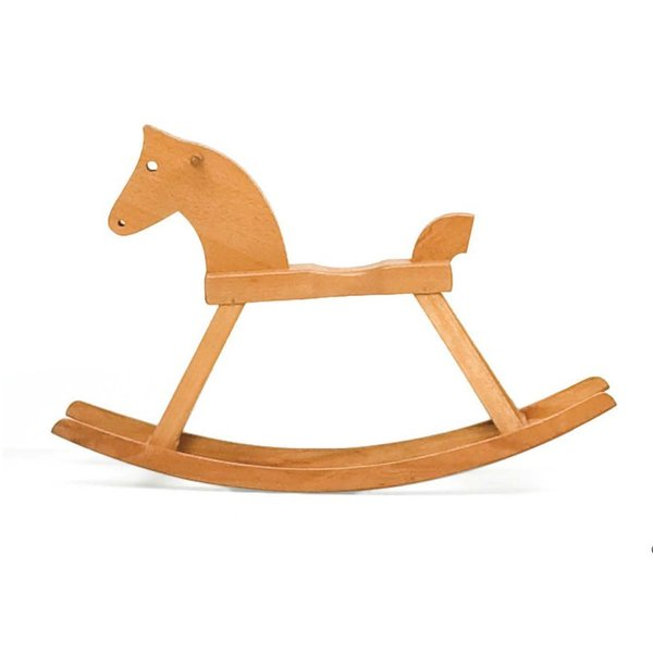 Rocking Horse, 1936, by Kaj Bojesen (1886-1958). More information