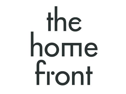 MAD's custom-designed logo for The Home Front