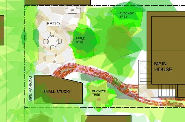 The siteplan. Image courtesy Deeds Design