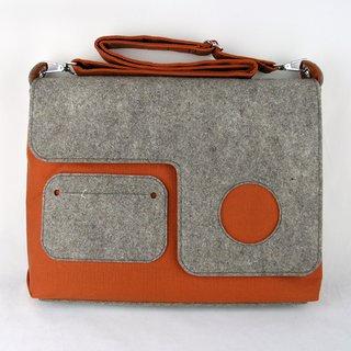 Organic Laptop Bag by Zaum