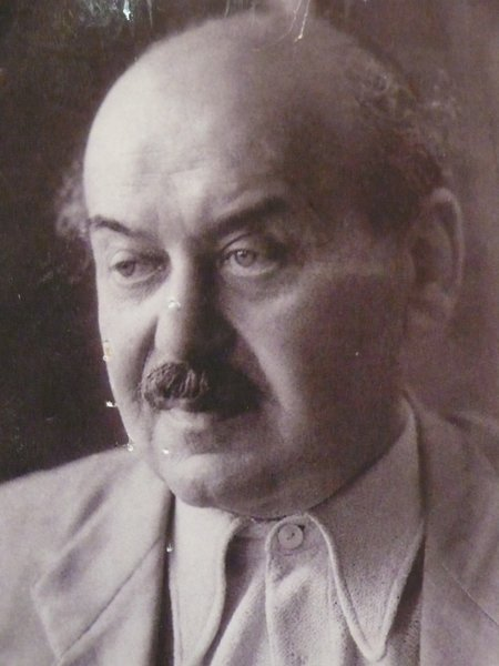 "A 1947 portrait of Lajos Kozma. ""Hungarian tradition does not mean doing what our predecessors have already done,"" he wrote in 1926. ""What it means is doing what our predecessors did: standing on the bridge between East and West, welding our oriental flavour, provincial freshness, pride of peasants and flare for decoration with the refined erudition of the west…. New can only be created along the boundaries of the spirit of the times."" Photo courtesy Szalon."