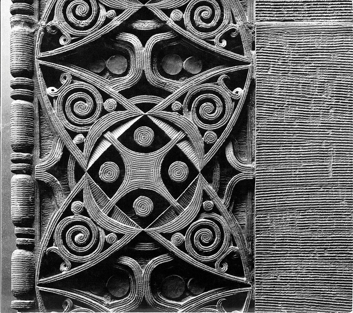 Detail of the Wainwright Building, St. Louis, Missouri, built 1890-1891. Photo courtesy of The Richard Nickel Committee and Archive.  Photo 6 of 19 in The Architecture of Adler & Sullivan