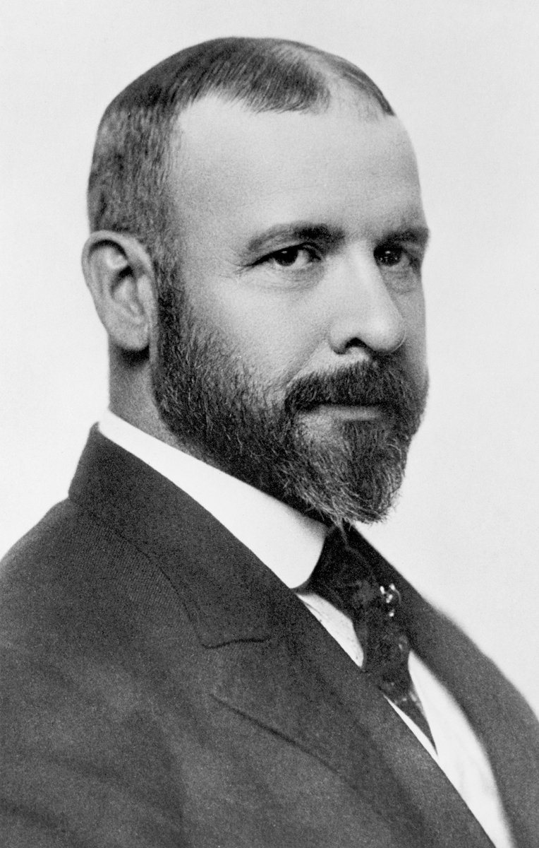 A portrait of Louis Sullivan. Photo courtesy of The Richard Nickel Committee and Archive.  Photo 5 of 19 in The Architecture of Adler & Sullivan