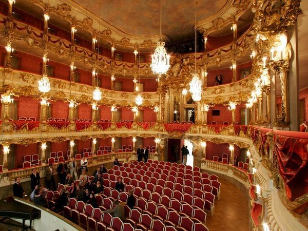 The Cuvilliés-Theater in Munich is a gilt fantasy.