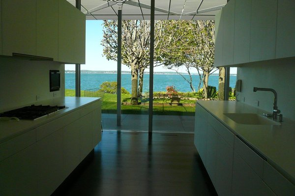 Another view of the kitchen.  Kitchen from Visiting the Fishers Island House