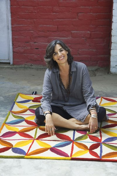 Barcelona-based designer Nani Marquina not only produces some of the best rugs in the business, but she also sponsors a school for nearly 400 children in India.
