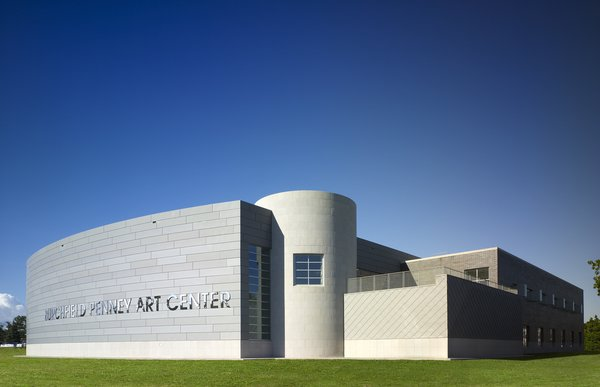 The Burchfield Penney Art Center was certified LEED silver by the USGBC after its completion, making it the first LEED art museum in New York state. Visit burchfieldpenney.org for a list of events and exhibitions and click over to our Three Buildings: Buffalo, New York to weigh in on your favorite structure in the city.  Don't miss a word of Dwell! Download our  FREE app from iTunes, friend us on Facebook, or follow us on Twitter!