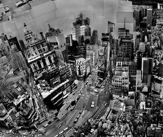 Nishino captured Times Square…  Diorama Map New York, 2006, Light jet print on Kodak Endura paper, 133 x 172 cm, © Sohei Nishino, Courtesy of Michael Hoppen Contemporary/ Emon Photo Gallery.