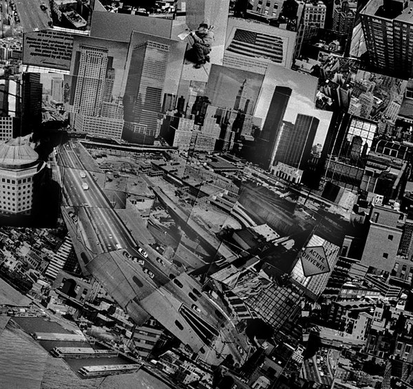 …and Ground Zero…  Diorama Map New York, 2006, Light jet print on Kodak Endura paper, 133 x 172 cm, © Sohei Nishino, Courtesy of Michael Hoppen Contemporary/ Emon Photo Gallery.