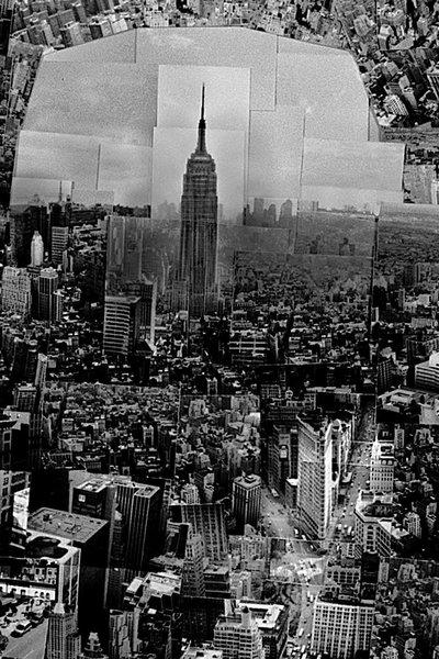 …and the Empire State Building.  Diorama Map New York, 2006, Light jet print on Kodak Endura paper, 133 x 172 cm, © Sohei Nishino, Courtesy of Michael Hoppen Contemporary/ Emon Photo Gallery.