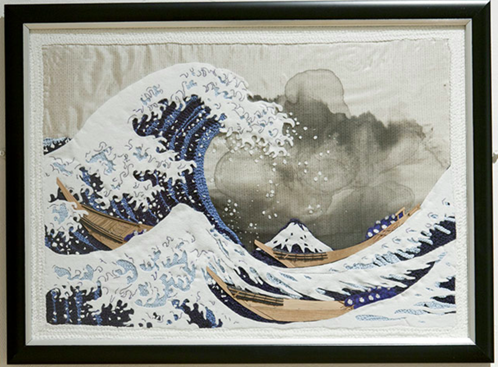 A Japanese print featured in The Art of Knitting: Masterpieces Reimagined.  Photo 4 of 4 in Friday Finds 4.08.11
