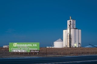 We're not in Kansas anymore, except we are—despite what the wind turbines may suggest. After being torn to shreds by a twister, Greensburg has rebuilt itself as a beacon of sustainable design in the middle of the American heartland.
